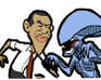 Play Obama Versus Aliens