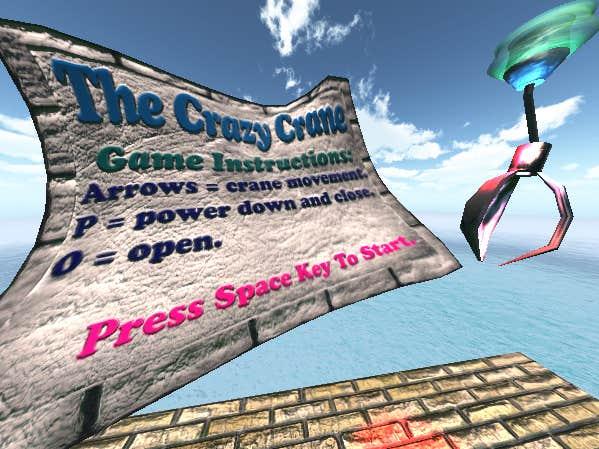 Play The Crazy Crane - PhysX Simulation Game V-0-1 - WIP