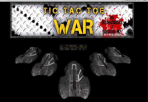 Play TicTacToe War