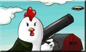 Play Bazooka Chicken