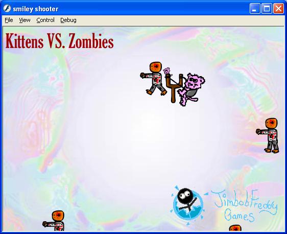 Play Kittens VS Zombies