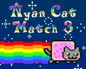 Play Nyan Cat Match 3