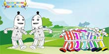 Play Bananas in pyjamas Dress Up