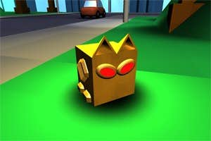 Play Boxy the Boxcat in Evolution Escapades