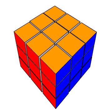 Play Virtual Rubrik's Cube
