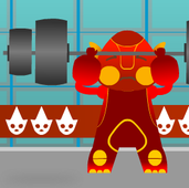 Play Virtual Olympics - Weightlifting