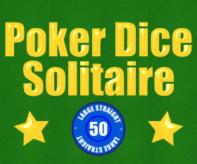 Play Poker Dice Solitaire