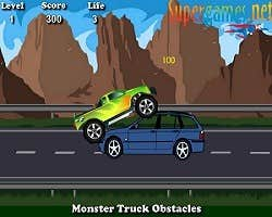 Play Monster Truck Obstacles