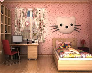 Play Hello Kitty Room Escape
