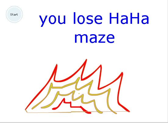Play You Lose HaHa maze