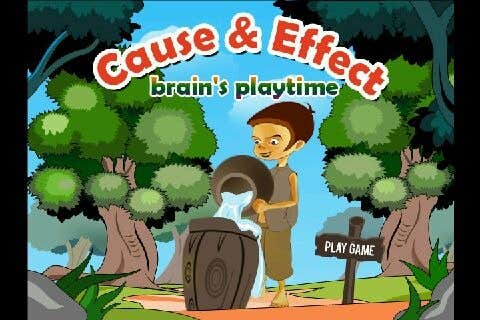 Play cause and effect - brain's playtime