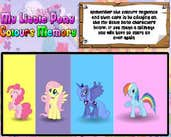 Play My Little Pony Colours Memory