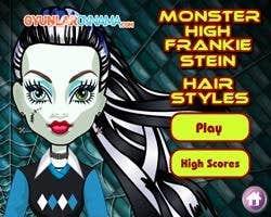 Play Monster High Frankie Stein