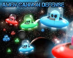 Play Alien Canon Defense