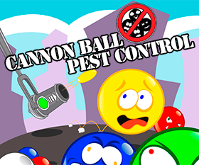Play Cannon Ball Pest Control DEMO