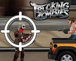 Play Trucking Zombies