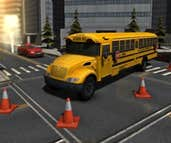 Play Park It 3D: School Bus