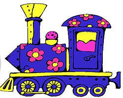 Play Daisy Train Coloring Game