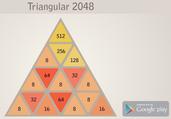 Play Triangular 2048