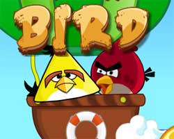 Play Angry Birds Rock Bird
