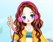 Play Music girl