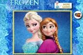 Play Puzzle Anna Elsa Frozen