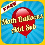 Play Math Balloons Addition Subtraction
