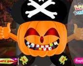 Play Pumpkin At Dentist
