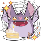 Bat bday shiny