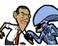 Play Obama Versus Aliens