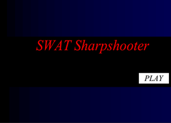 Play SWAT Sharpshooter