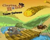 Play Claytus Hood Tower Defense