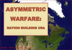 Play Asymmetric Warfare - Nation Building USA