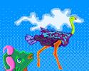 Play Ostrich Away!