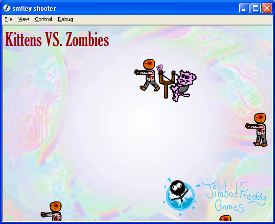 Play Kittens VS Zombies