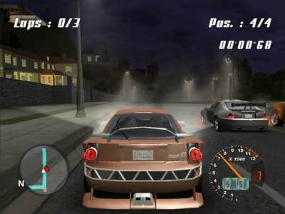 Play Random Racing Game