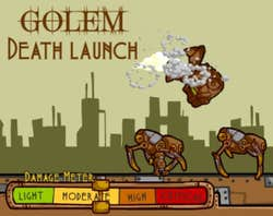 Play Golem Death Launch