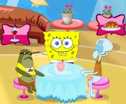 Play SpongeBob UnderWater Restaurant