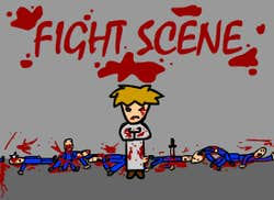 Play Fight Scene
