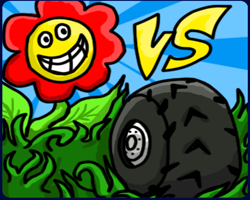 Play Wheel vs Flowers