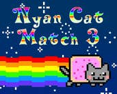 Play Nyan Cat Match 3