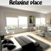 Play Relaxing place. Find objects