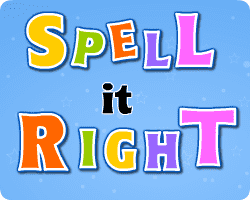 Play Spell It Right