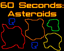 Play 60 Seconds: Asteroids