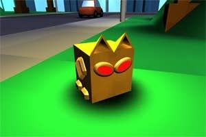 Play Boxy the Boxcat in Evolution Escapades