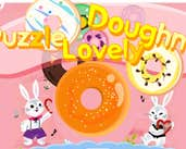 Play Lovely Doughnut Puzzle