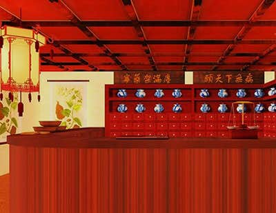 Play Chinese Pharmacy Escape