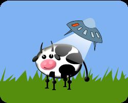 Play UFO like cows