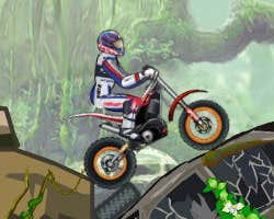 Play Jungle Moto Trial