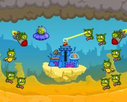 Play Click defense: green danger